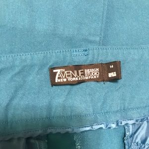 New York & Company Pants - Like new NY&Co turquoise stretch slacks.